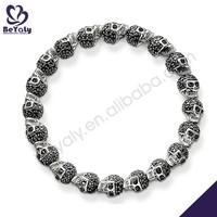 hot sale costume silver jewelry faith love hope bracelet