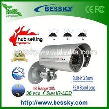 36PCS&5MM CCTV IR Vandalproof Security Camera,Factory camera Japanese Video,New Arrival hidden camera light bulb