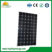1956*992*40mm/45 Size and Monocrystalline solar panel 300W
