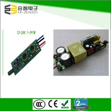 china supplier high efficient 90-264V input voltage 1w 30w 350ma led driver