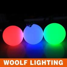 waterproof led garden ball 16 color flashing waterproof led ball