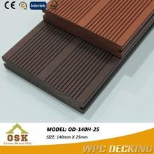 OUSHENGKAI WPC decking / wood plastic composite deck board / WPC factory in China (SGS, INTETEK, FSC)