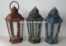 popular design garden metal hanging lantern stand