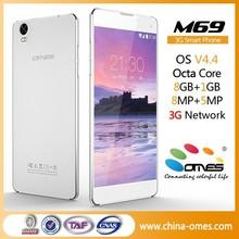 "5.5"" octa core dual sim 3g cheap stylish mobile phone"
