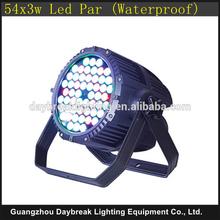 led wall wash par light outdoor waterproof led bar 54pcs 3w R G B W color mixing