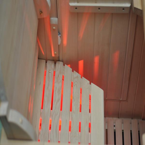 Bain remous ext rieur de bain sauna sec avec canadienne for Bain a remous exterieur