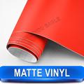 Mate de color rojo del coche de plástico de vinilo con el aire libre/más caliente de diseño/tamaño: 1.52 m*30 m