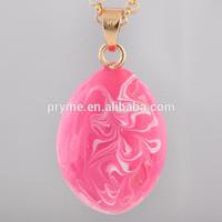 Kid's plain bell series gold plated mix colors water drop bell ball pendant for children women