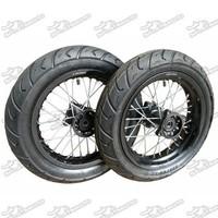 Dirt Pit Bike Motard Wheel With Spoke Aluminum Rim