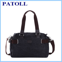Latest Korean new design lady shoulders bag men/woman fashion canvas man bag