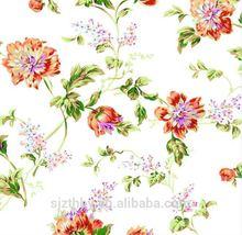 Alibaba 100% disegni pittura su tessuto di cotone floreale
