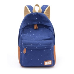 2015 Hotsale Cute Fashion Lady Canvas popular backpack for teenagers SV008795