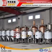 beer brewing ,beer making machine in China