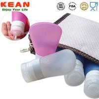 Mini Portable Silicone Squeeze Bottle Travel Set Kit