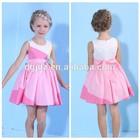 new model short casual children dresses /frock design for girls