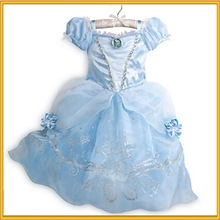 Vestido de las niñas más los niños vestido diseños niños vestido de cenicienta zzj-dr-167