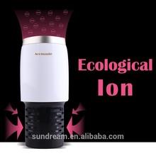 USB power supply car deodorizer crown auto air freshener for new car smell clean car air