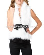 women's sexy faux fur vest