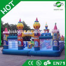2015 Brand New Design inflatable fun city amusement park,inflatable bouncer for amusement park,fun city