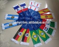 Custom print logo fans scarves in Guangzhou