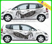 High quality removable vinyl window sticker, custom car decal