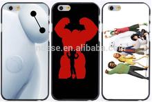New Design Big H ero 6 Baymax Robot Plastic Hard Phone Cases For Iphone 6 Case 6 Plus 5 5S 5C 4 4S
