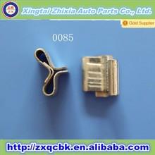 Zhixia manufacturer good quality auto plastic clip/auto plastic buckle/nylon clips auto part