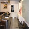 Moderno armários de cozinha de madeira, Mdf armário de cozinha