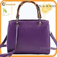 Hot Selling! 2015 spring vintage style elegant genuine leather tote bag wholesale