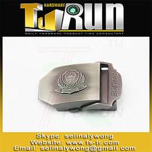 New design custom logo fashion titanium belt buckle
