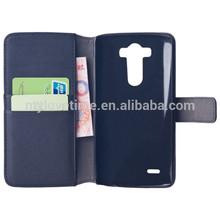 PU wallet case for lg g pro lite dual d686
