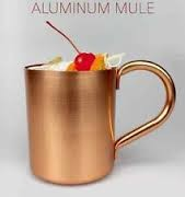 500ml Aluminum Copper Moscow Mule Mug,China wholesale aluminum copper mug,Copper oxide aluminum cup