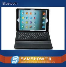 Shenzhen Laptop Factory Waterproof Case Silicone Keypad Pu Leather Case Bluetooth Wireless Bluetooth Keyboard For Ipad Case