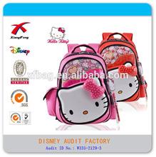 2015 XF high quality new design hello kitty latest fashion school bag