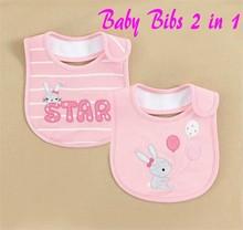 momandbab Baby Bibs Cotton Material Waterproof Design In Stock from Kids Wear Manufacturer