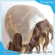 Wholesale natural wave short hair women wig cheap thin skin perimeter full lace wig