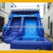Heavy Duty Inflatable Game Inflatable Slip And Slide H2-1210