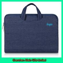 China Made Briefcase Bag Sleeve Blue Fabric Laptop Bag