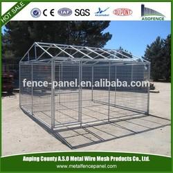 New galvanized steel metal dog kennel design