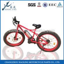 Haoling Hot sale EN15194 fat tyre USA electric bike chopper