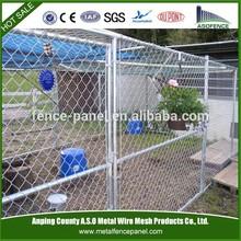 Cheap galvanized steel chain link dog kennel panels