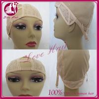 human hair cheap u part wig cap for making wigs wholesale wig caps