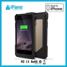 New Style Battery Charger Case for iPhone 6 Iron Man Case,TPU Case for iPhone 6