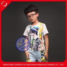 custom 100 cotton kids t shirt printing wholesale china