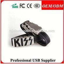 leather bracelet usb flash drive sale USB flash drive with leather case , Free sample