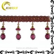 wholesale crystal bead curtain tassels