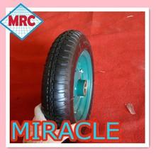 "13"" alibaba express China OEM Carbon Fiber Disc Wheels 3.50-8 wheelbarrow wheel"