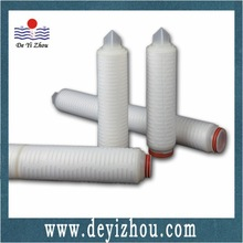 High Efficiency 0.1Micron PES Pleated filter cartridge