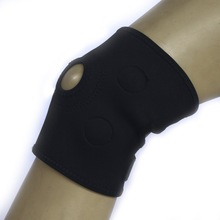 High elastic compression Breathable Nylon neoprene Knee sleeve/brace/ knee support for riding and running /basketball