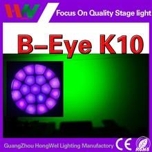 B eye clay packy high quality copy 19x15w 4in1 beam B eye clay paky
